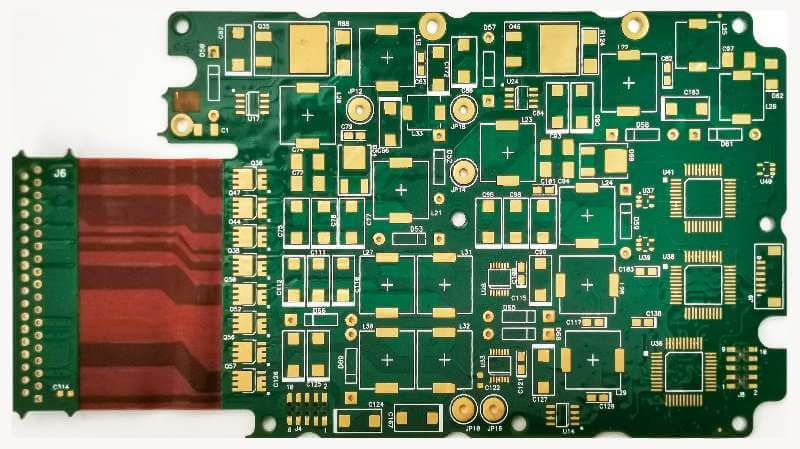 LHDPCB Supply the multilayer 4 Layer rigid -Flex board with heavy copper