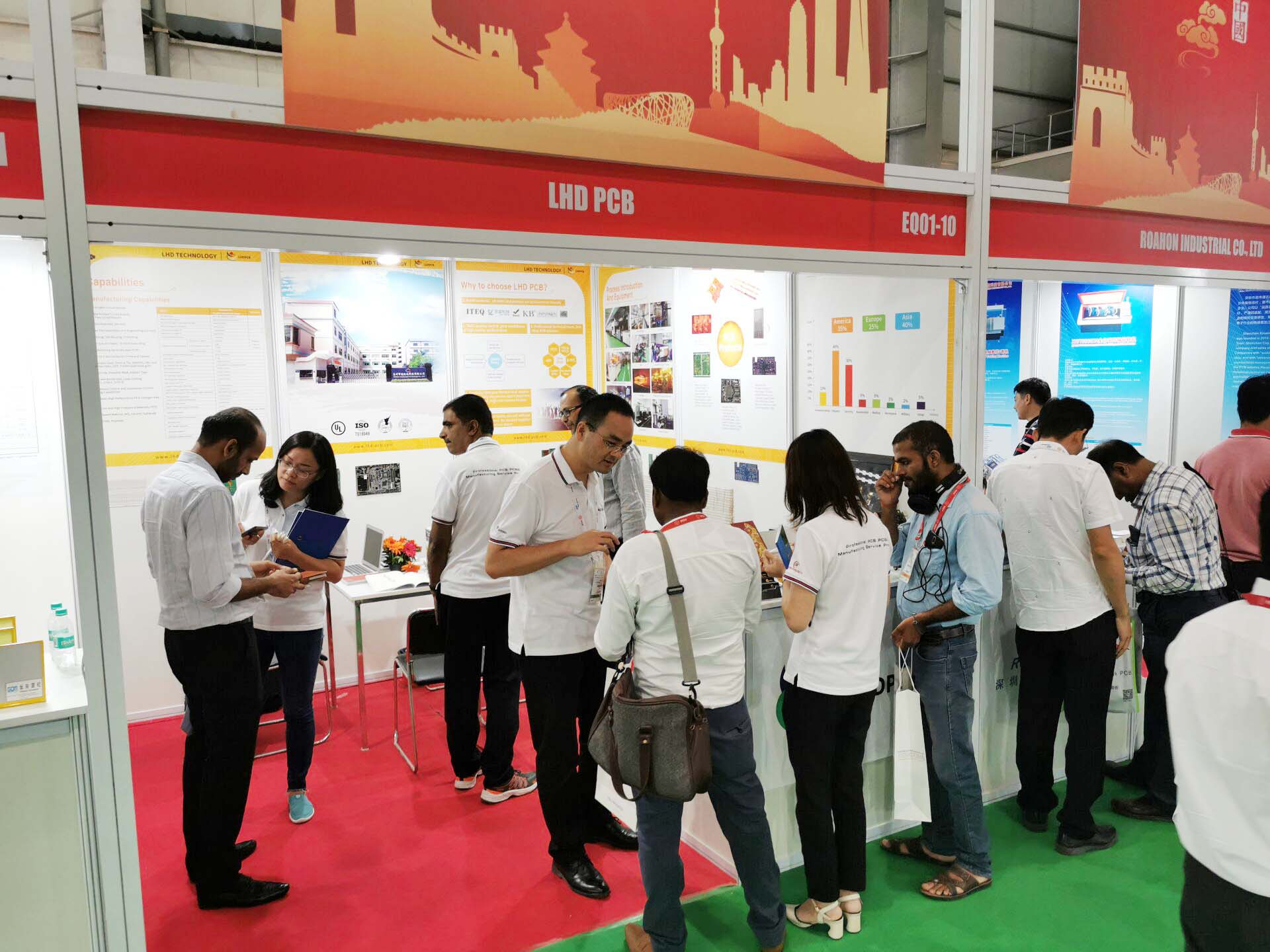 Fantastic IPCA Expo 2019 Exhibition---LHDPCB